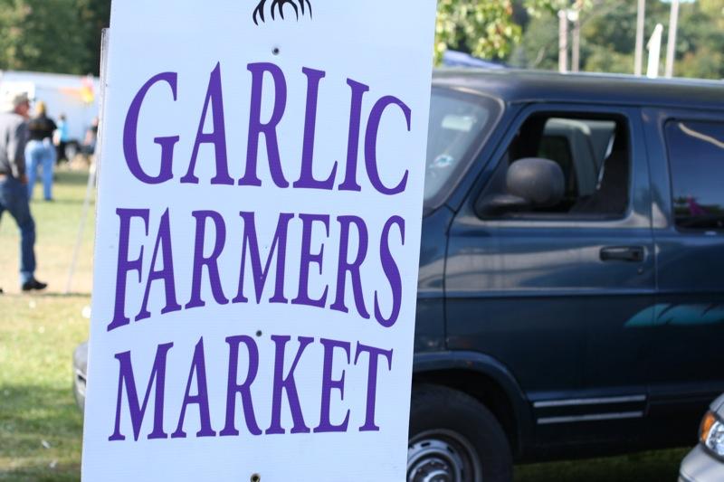 GarlicFarmersMarketFlickr