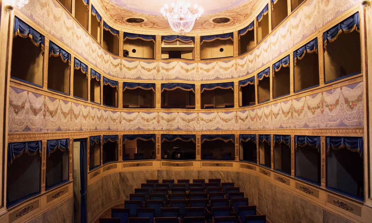 Teatro Mariani in Sant'Agata Feltria, Italy