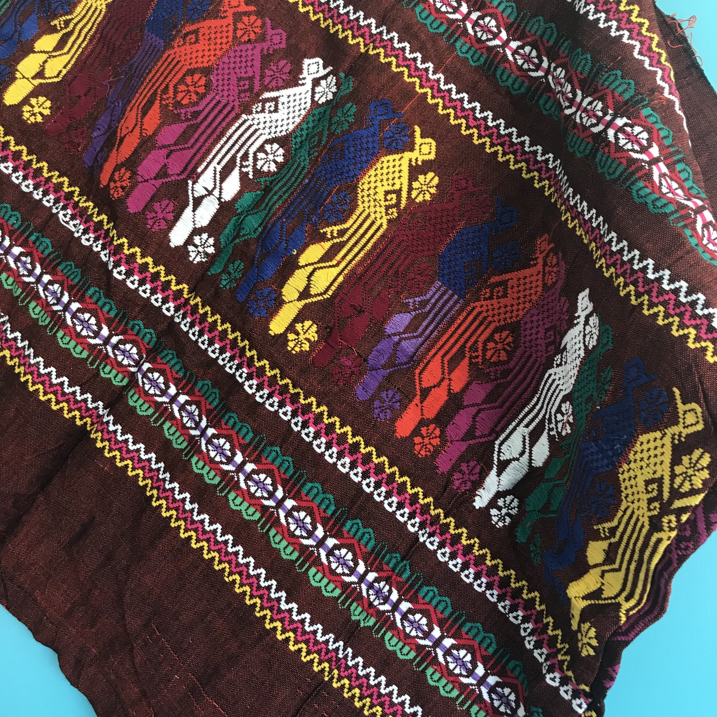 Handwoven Textile: Guatemala