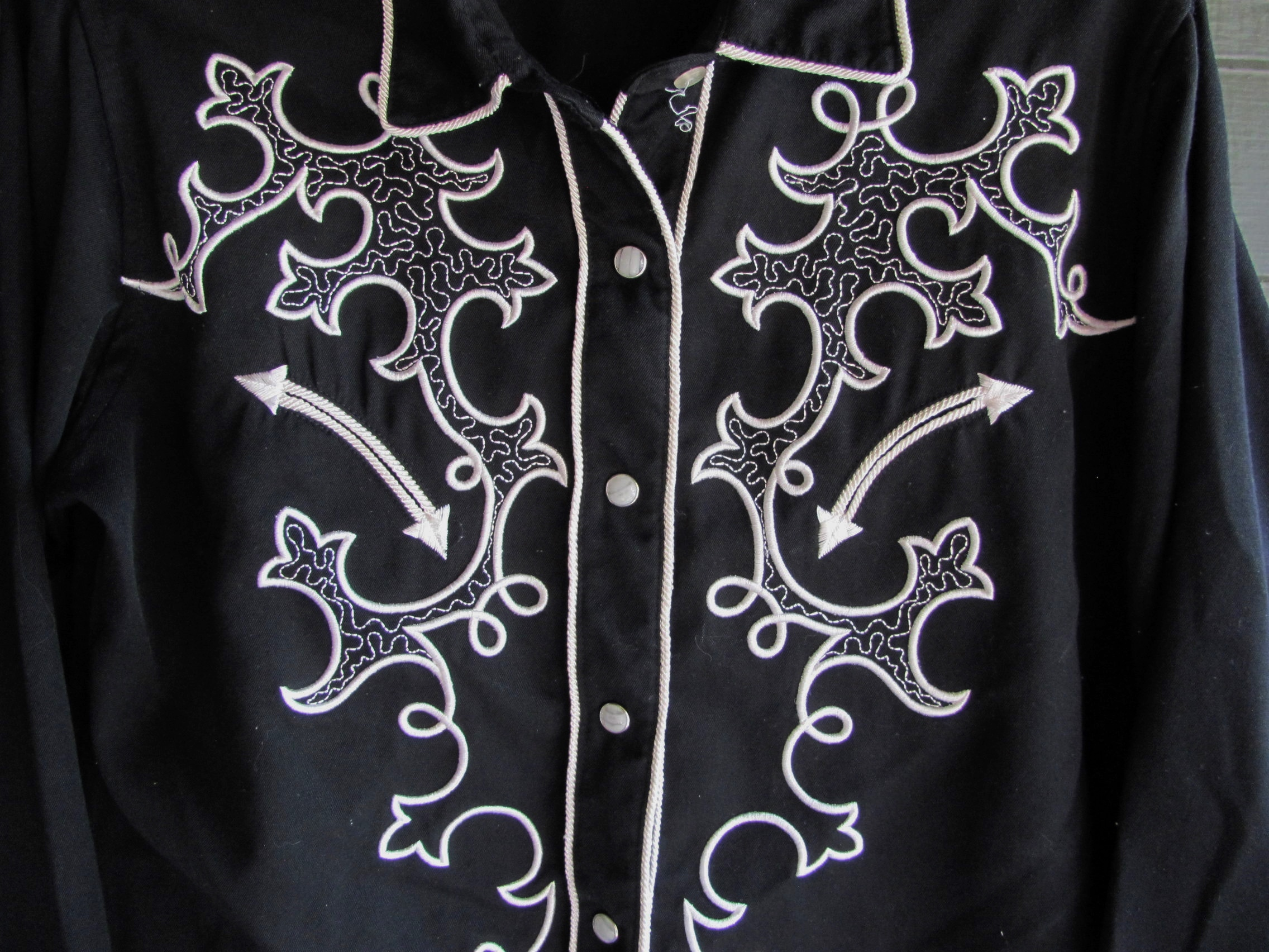 Front of Embellished Shirt