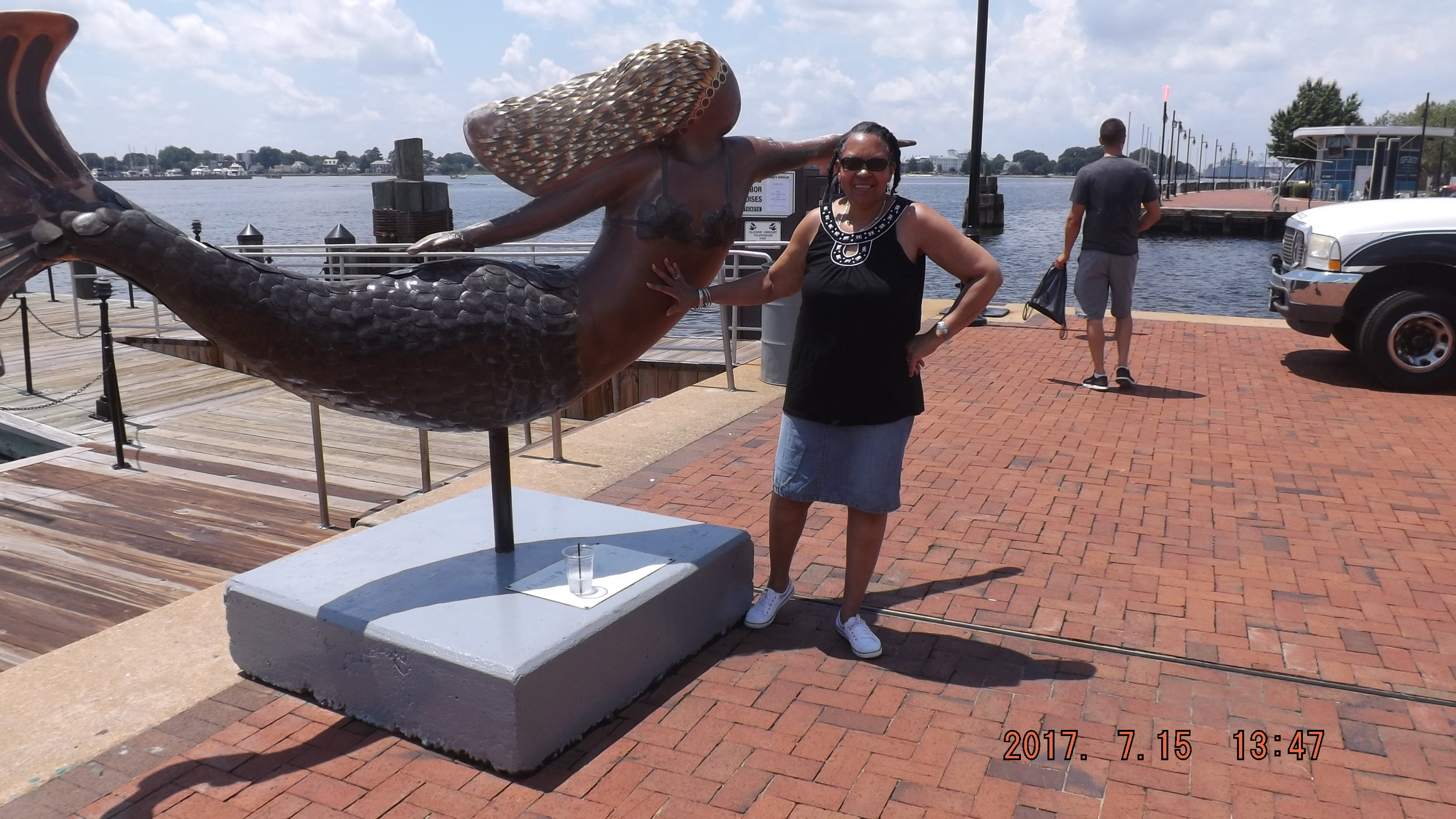 Michelle D. Smith and a Norfolk Mermaid!