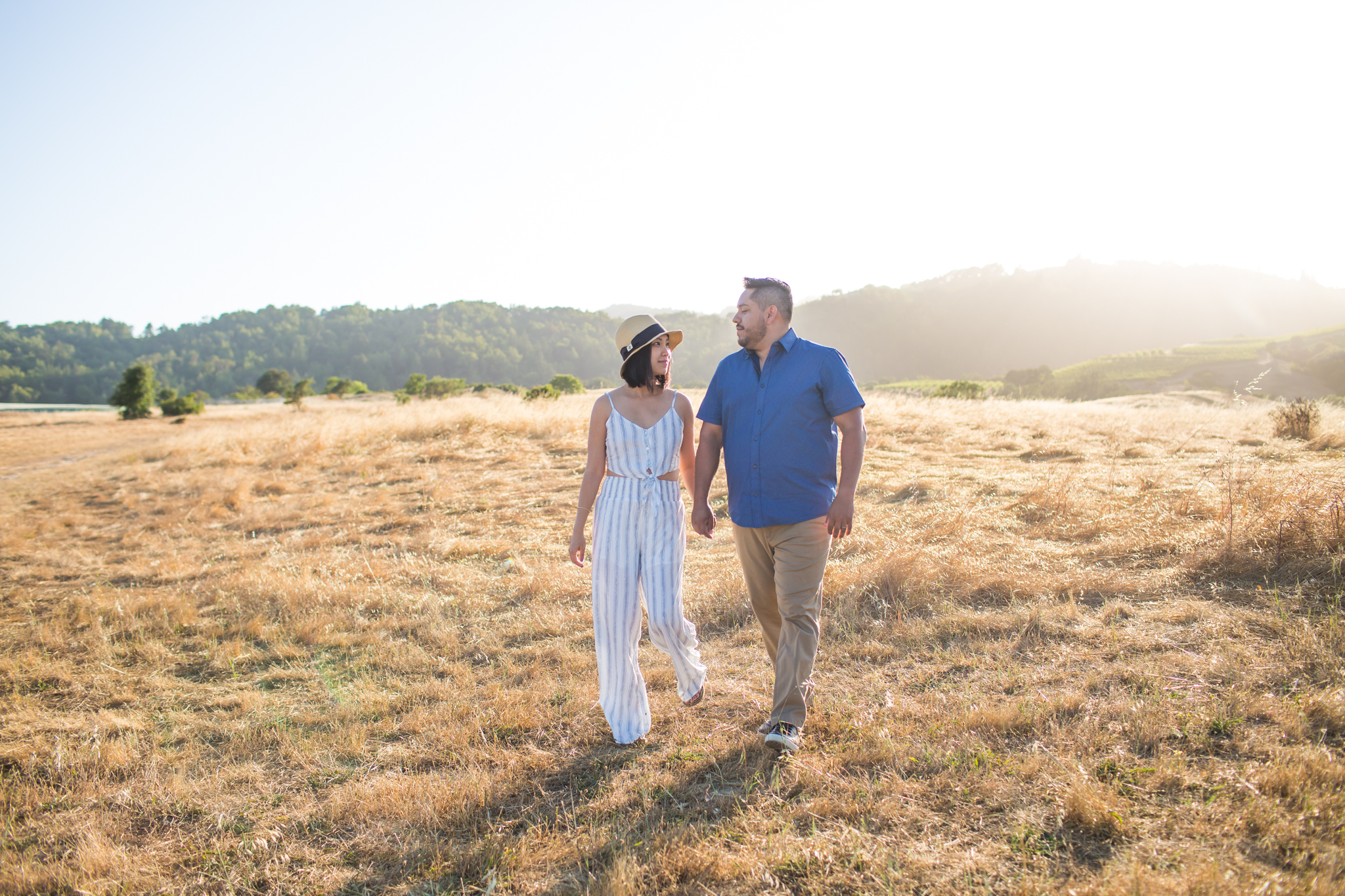 napa engagement photos