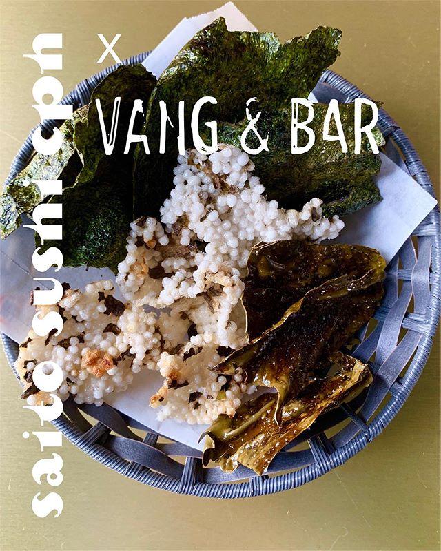 SNACK ATTACK! 🍿 • Jeg har teamet op med min gode kammerat Emil Vang fra Vang & Bar og lavet en snack menu til deres bar. Imorgen holder vi release party og invitere gamle og nye venner indenfor til at nyde vores japanske snacks og mønske cocktails. • Der vil være mulighed for at få en cocktail plus to snack serveringer til 125 kr, eller én større snack servering til 45 kr. • Jeg vil også servere et begrænset antal serveringer af min ochazuke, som blev normineret til årets bedste streetfood for nylig, til en særpris af 100 kr. • 📍@vangandbar på Ingerslevgade 200 fra kl.1600-0200 • • • • • #saitosushicph #instafood #instajapan #denmark #copenhagen #odsherred #dansktang #nature #hygge #danmark #københavn #uglydelicious #privatedining #chefstalk #chefsoninstagram #cheflife #foodblog #godtselskab #sushi #ibyen #delditkbh #bæredygtighed #vangandbar #cocktails #drinks #vesterbro