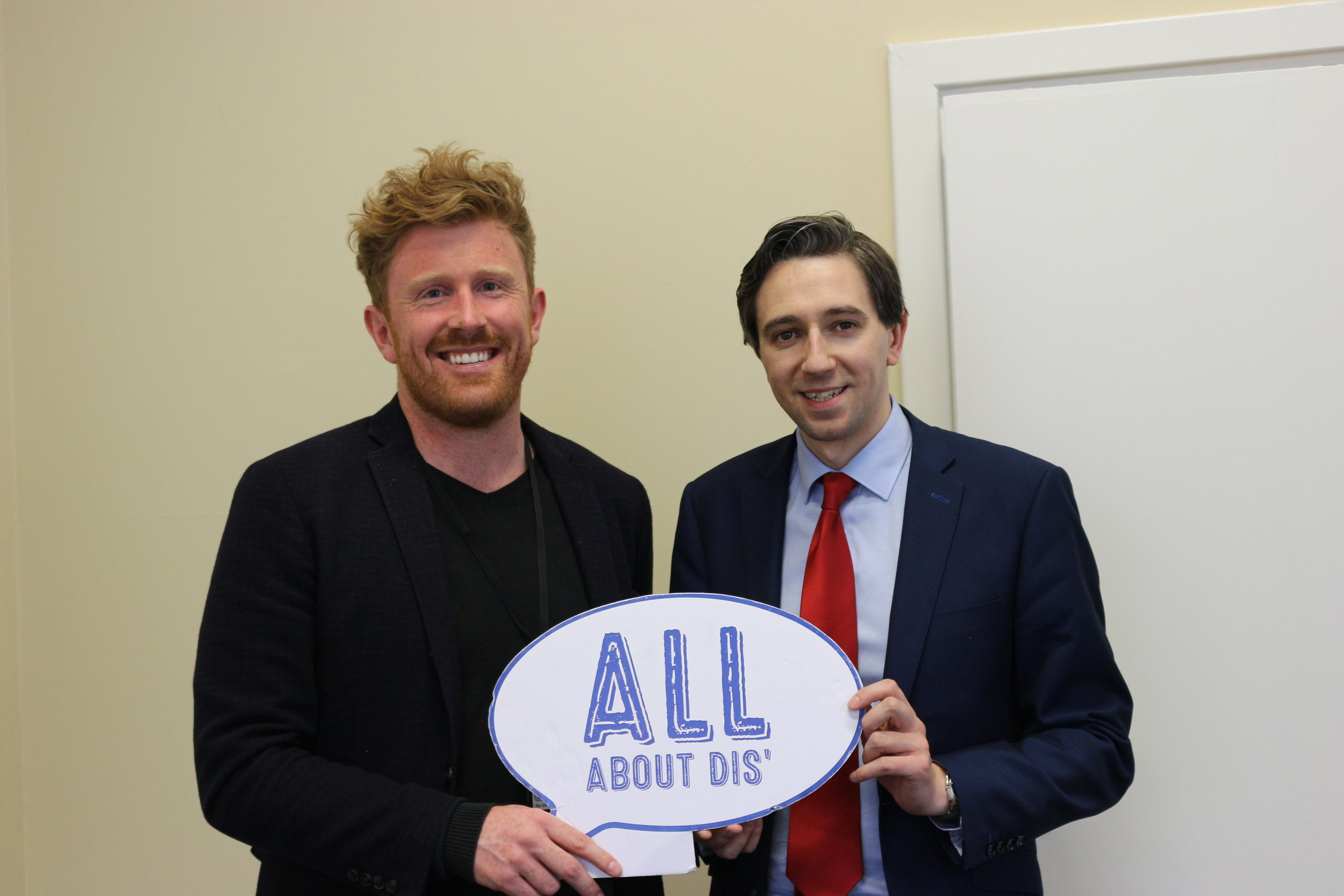 Minister for Health Simon Harris talks abut his vision for disability in Ireland
