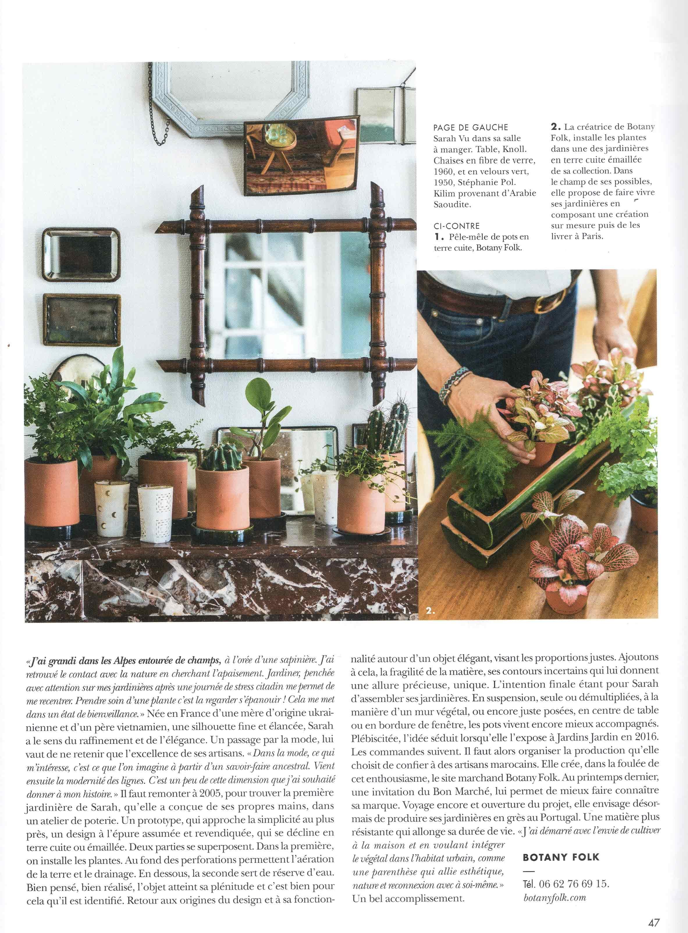 Botany Folk @cote paris