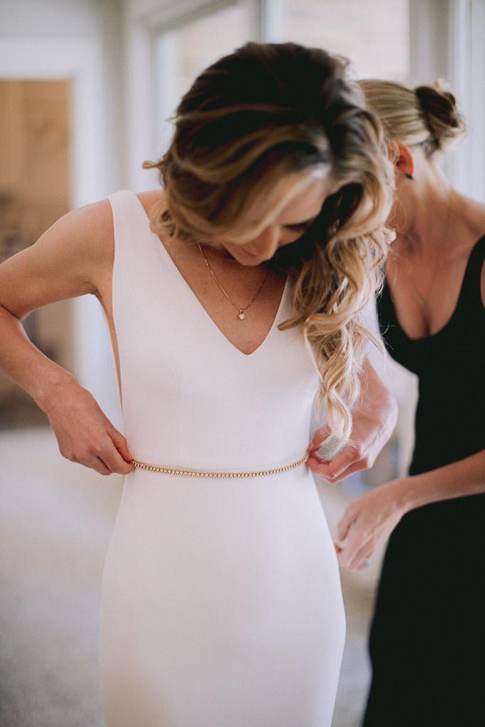 Wedding Dress | Bride getting Ready