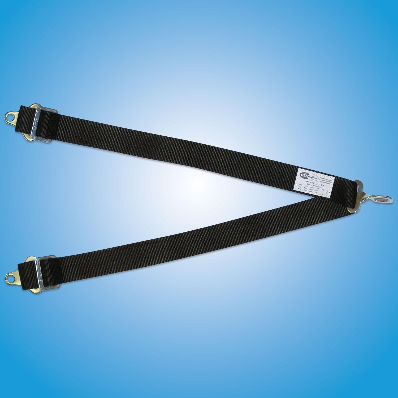 Crotch Strap-6 Point   6 point crotch strap, single attach point.   6 Point Crotch Strap for Kam-Lock  Part #200G — $60   6 Point Crotch Strap for Latch and Link  Part #100G — $60