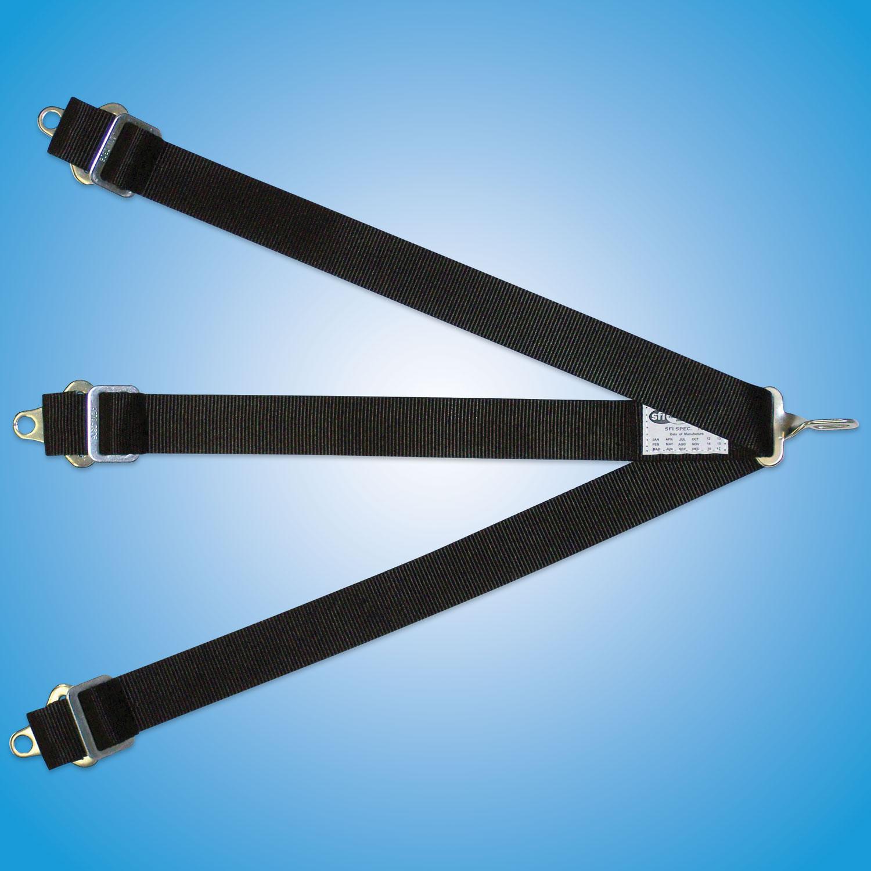 Submarine Belt-7 Point   Submarine belt, 7 point, single attach point.   7 Point Submarine Belt for Kam-Lock  Part #200H — $60   7 Point Submarine Belt for Latch and Link  Part #100H — $60