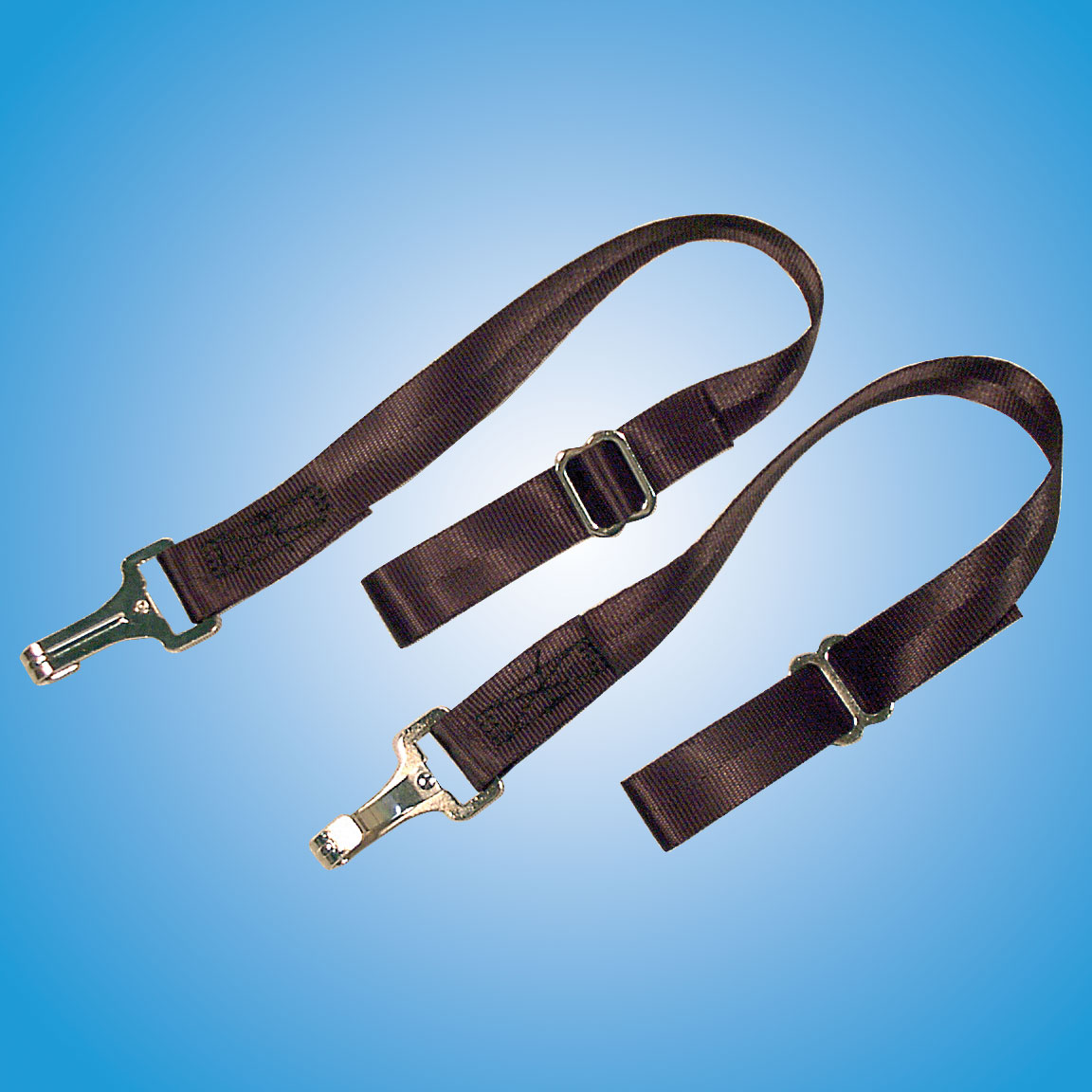 Door Restraints   Designed to keep doors from being slammed against their tops when the wind catches them. Easy to attach and remove.  Part #575 — $30