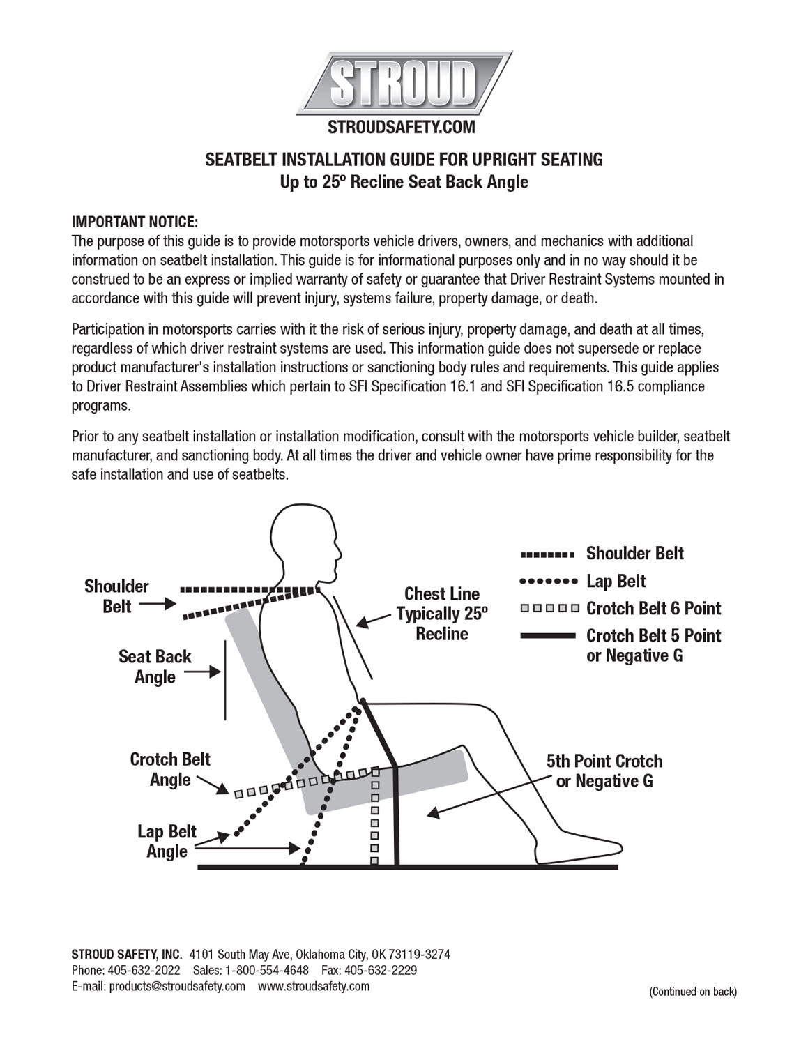 Download seat belt installation guide (PDF).