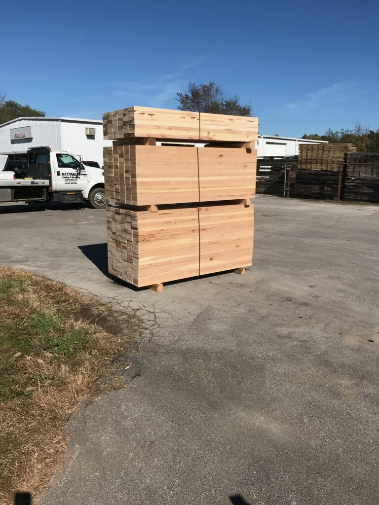 Lumber Ready for Pickup
