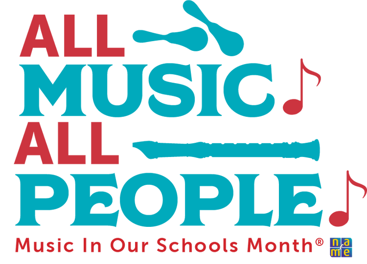 Music in our schools month logo from 2019