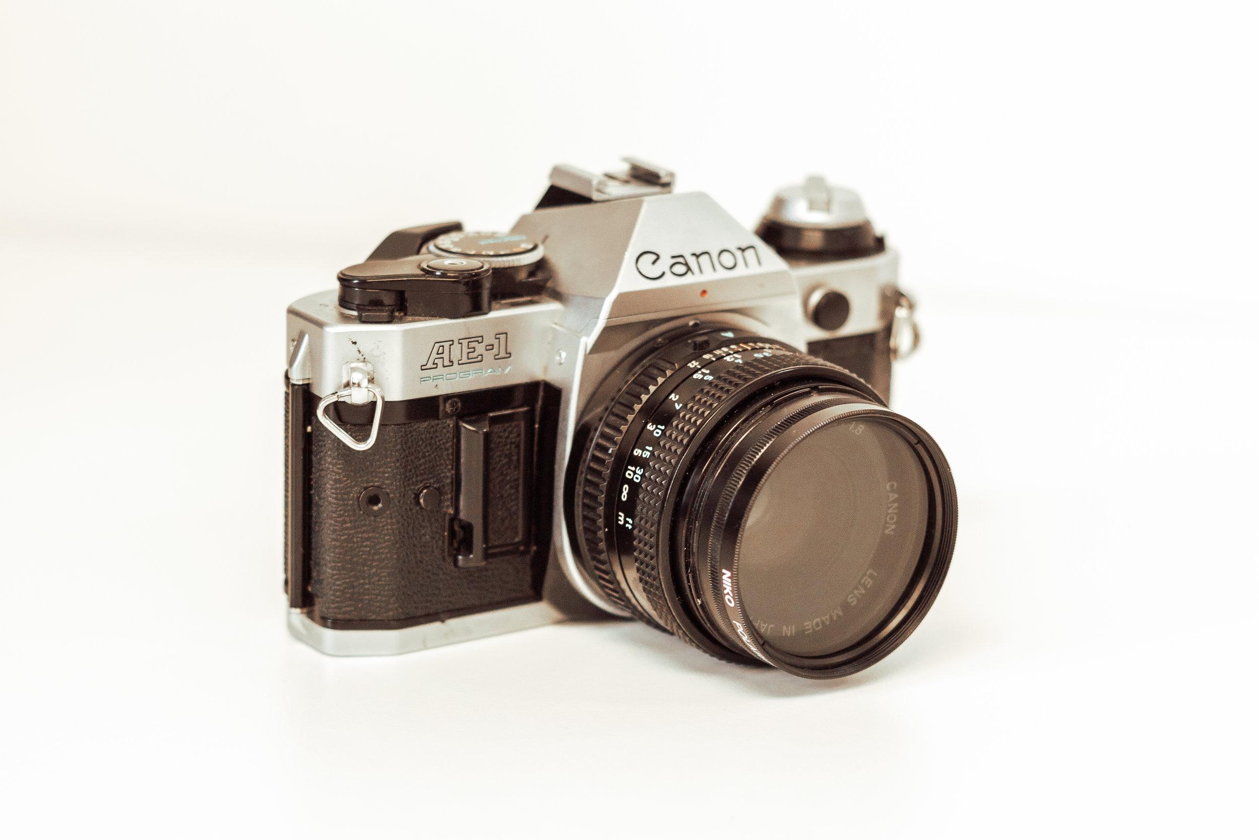 My new (to me) Canon AE-1 Program