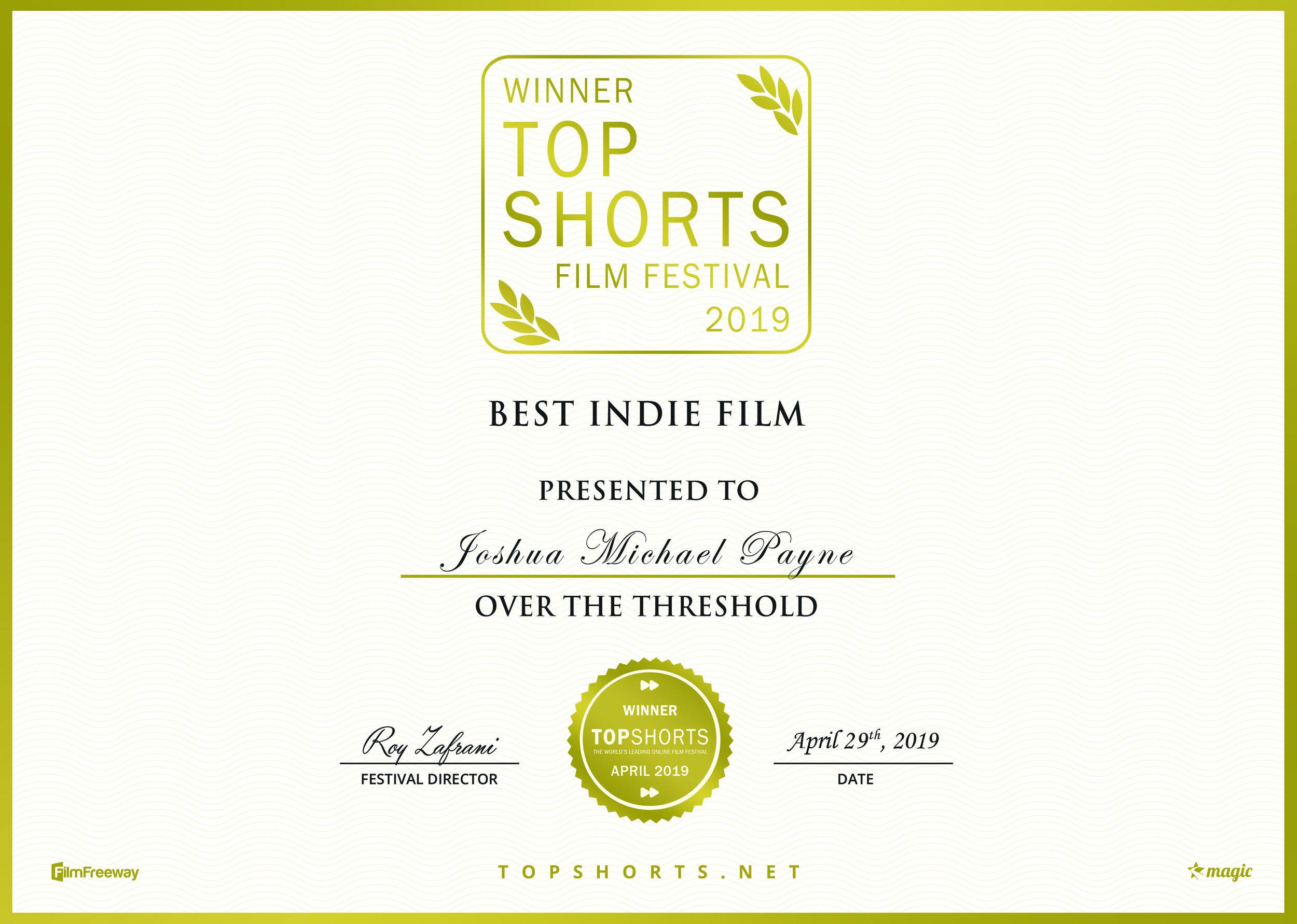 Best Indie Film - Top Shorts.jpg