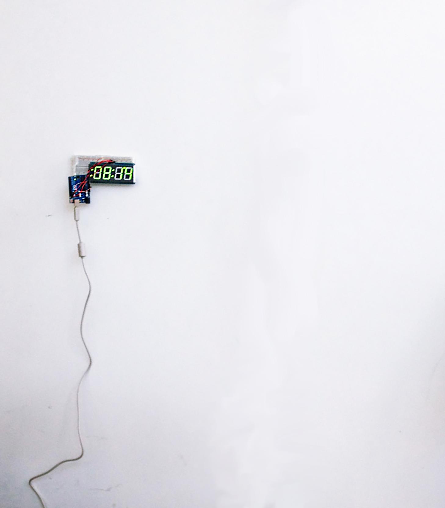Po-Hao Chi's sound installation, 2014