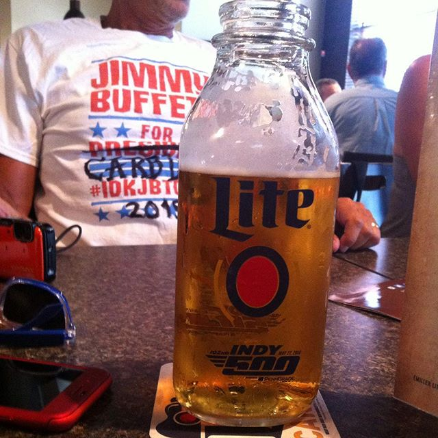 The calm before the storm @sikarting #MillerLite #MemorialDayWeekend