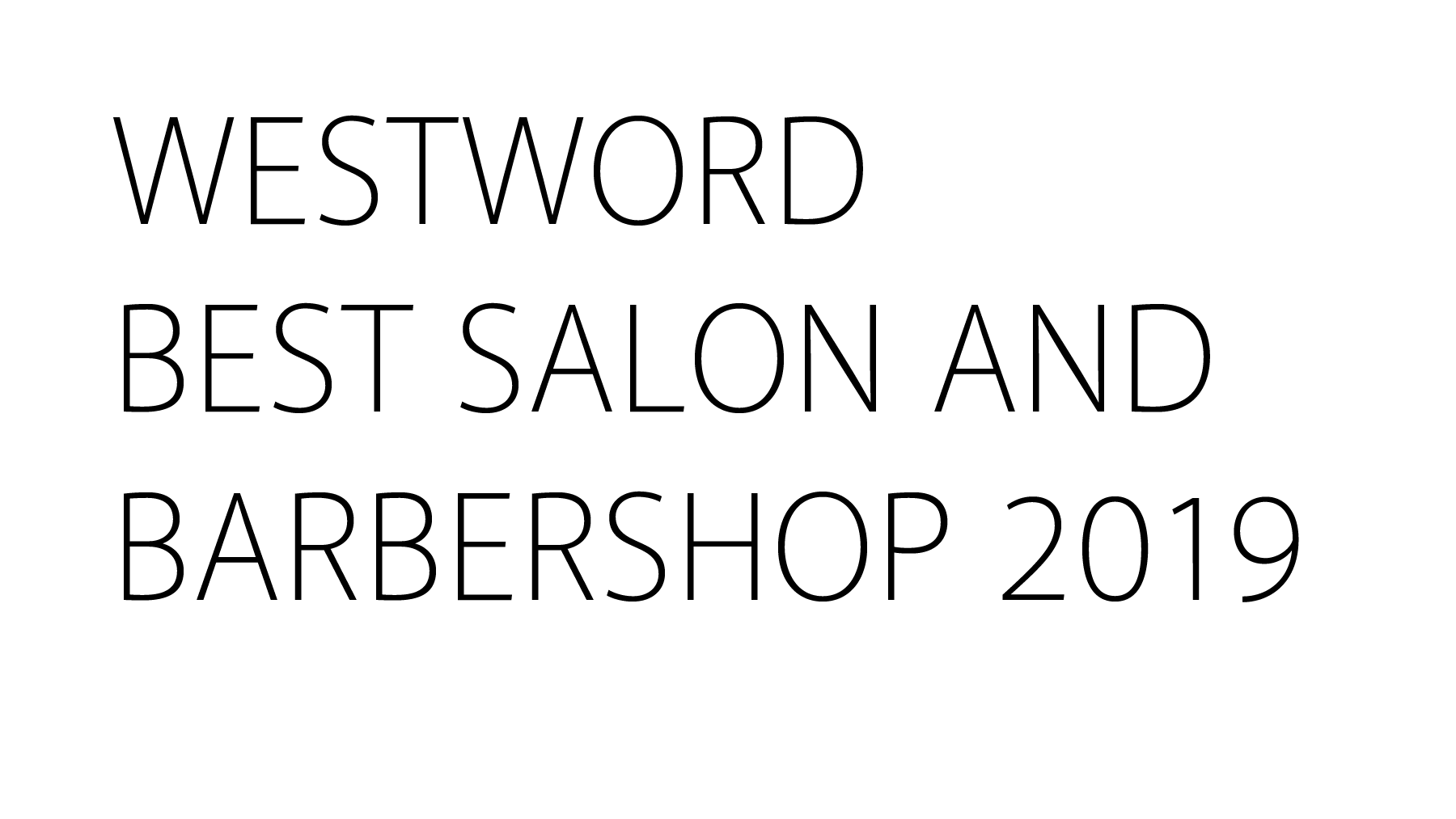 Westword Best Salon and Barbershop 2019
