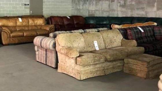 RUMMAGE RAMPAGE — Furniture, housewares and more for sale, benefiting local agencies.