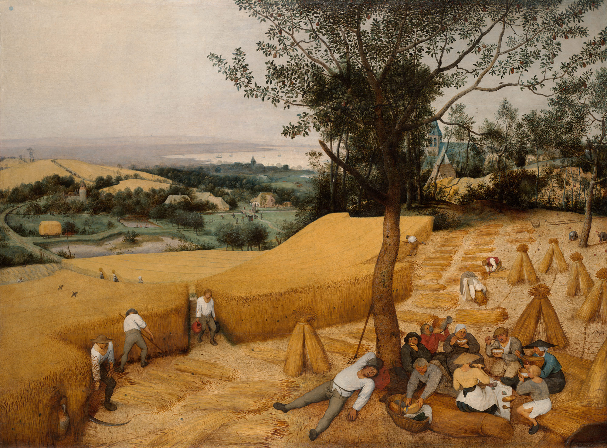 Bruegel The Harvesters