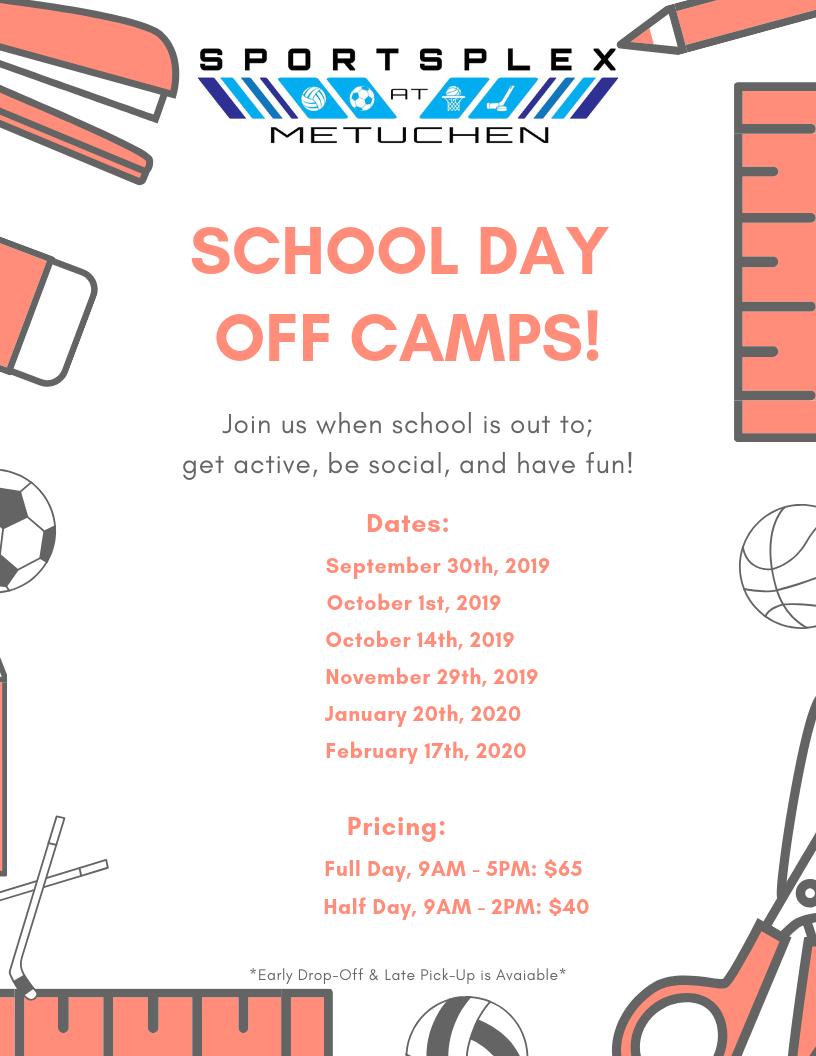 Sportsplex, School Day Off Camps Flyer..png