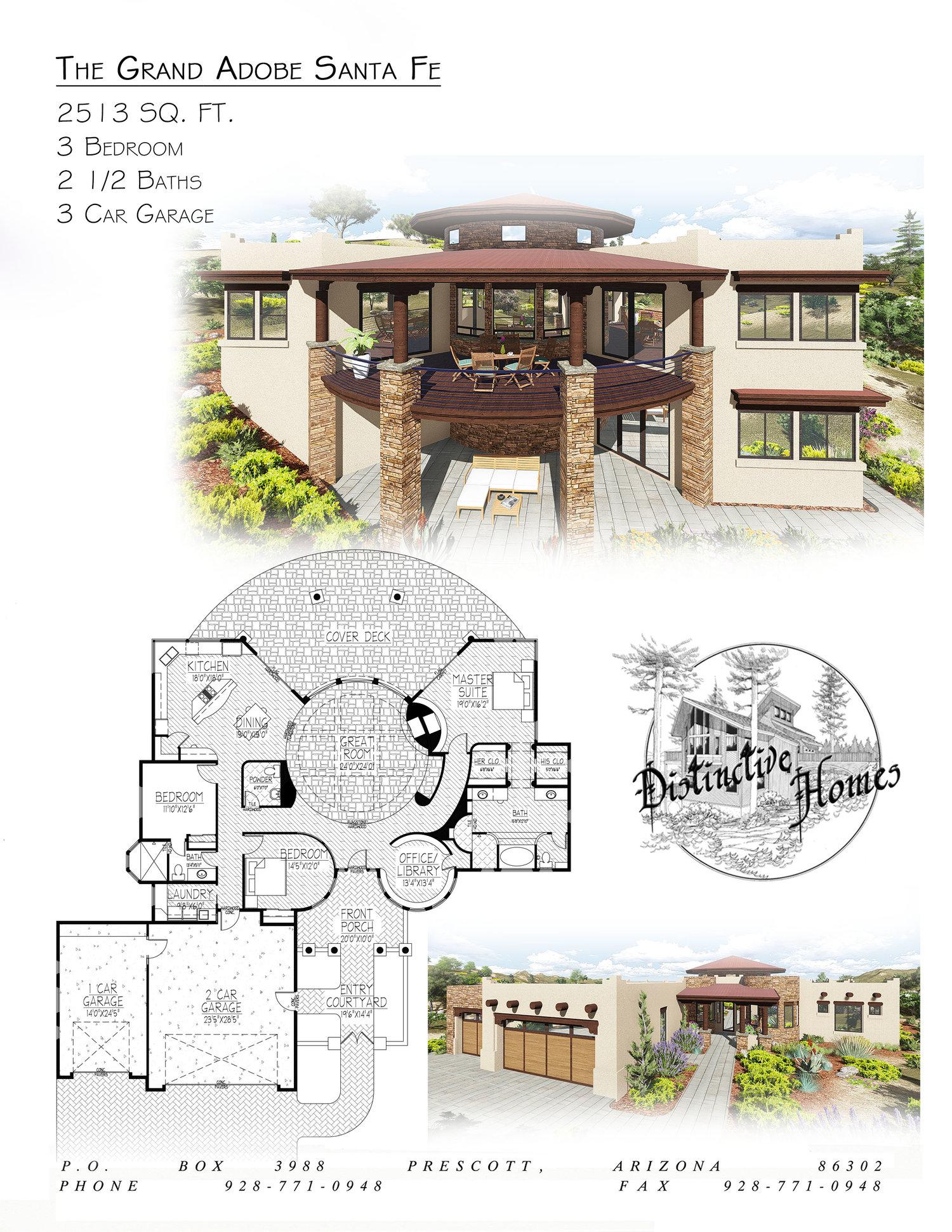 Santa Fe Distinctive Homes Architecture