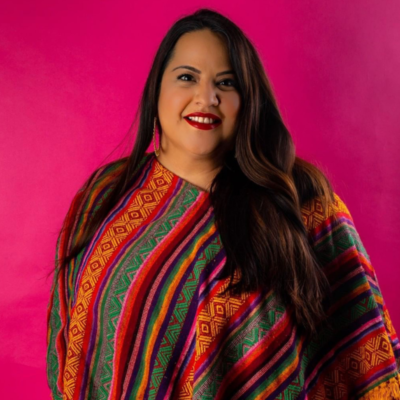 H+S Personal Development Keynote -  Elena Flores   Owner at  Sew Bonita   Elena Flores was born and raised in the border town of Eagle Pass, Texas, and currently living in Corpus Christi, Texas with my husband, Gerald Flores (www.tacogear.com), and 4 furry children! She started her sewing venture in November of 2014 as a hobby! She attended several classes, but for the most part self taught! She also likes to craft, and create things that are bright, bold, beautiful and full of shine! She is obsessed with every part of my Mexican culture! The food, décor, color, music, traditions and so much more! If she could she would throw cascaron confetti everywhere she goes! But for now, this side hustle of hers will do!
