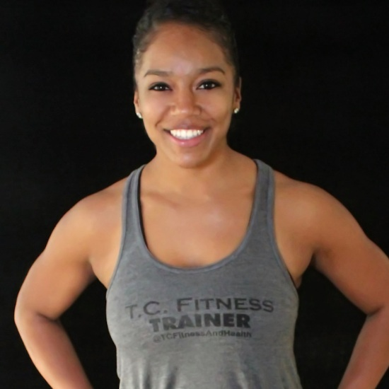"H+S Workshop Leader -  Tiffany C. Edwards   Owner at  T.C. Fitness LLC   NASM Certified Personal Trainer & Fitness Nutrition Specialist  Tiffany Edwards, NASM Certified Personal Trainer and Fitness Nutrition Specialist, is the owner and powerhouse behind T.C. Fitness LLC. For 7 years Tiffany has motivated others to take charge of their health through fitness and nutrition. She takes pride in educating her clients on how to develop and maintain a healthier lifestyle by creating a holistic and custom program geared for their personal needs. As a believer that exercise should be a fun addition to your life, Tiffany has created San Antonio's very own ""Sip & Sweat Sundays"" (now expanding to Saturday!). This series was created with the hopes that people will not only work up a sweat but connect with other locals while enjoying some cocktails. So whether you're in need of a one-on-one session or looking to join a community to guide you through your fitness journey Tiffany has a program that will challenge and transform your body and mind from the inside out."