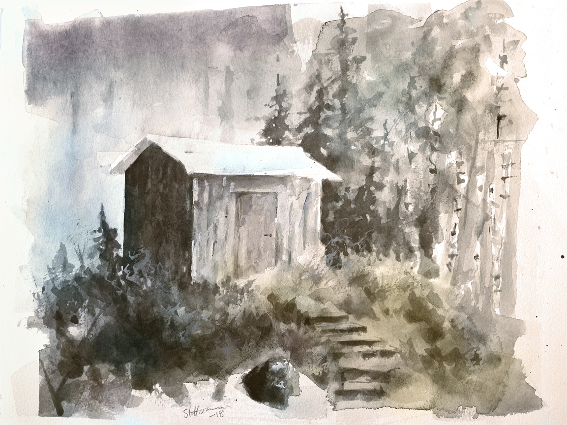 Forest Shed.   SOLD
