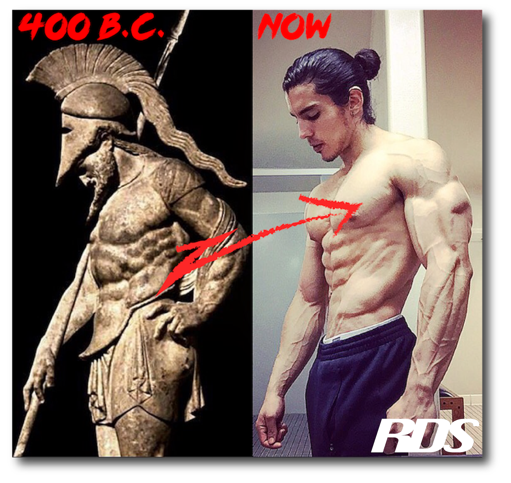 You can't gain pounds of lean, aesthetic muscle by eating like a bird…eat like a SPARTAN! I'll show you how on  this  page…