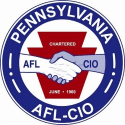 pennsylvania afl-cio - The Pennsylvania American Federation of Labor and Congress of Industrial Organizations(PA AFL-CIO) was formed in 1960 with the objective of improving the lives of workers and their families.In order to benefit the estimated 900,000 members, the Pennsylvania AFL-CIO has dedicated itself to fighting for affordable healthcare, high quality public education, job safety, fair and sustainable wages, and other such programs. The Pennsylvania AFL-CIO also fights to ensure corporate responsibility to protect the safety and rights of workers, the environment, and Pennsylvania's communities.For more information, visit http://www.paaflcio.org