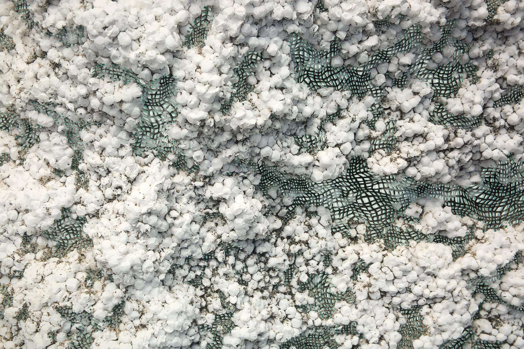 Matter (styrofoam), detail