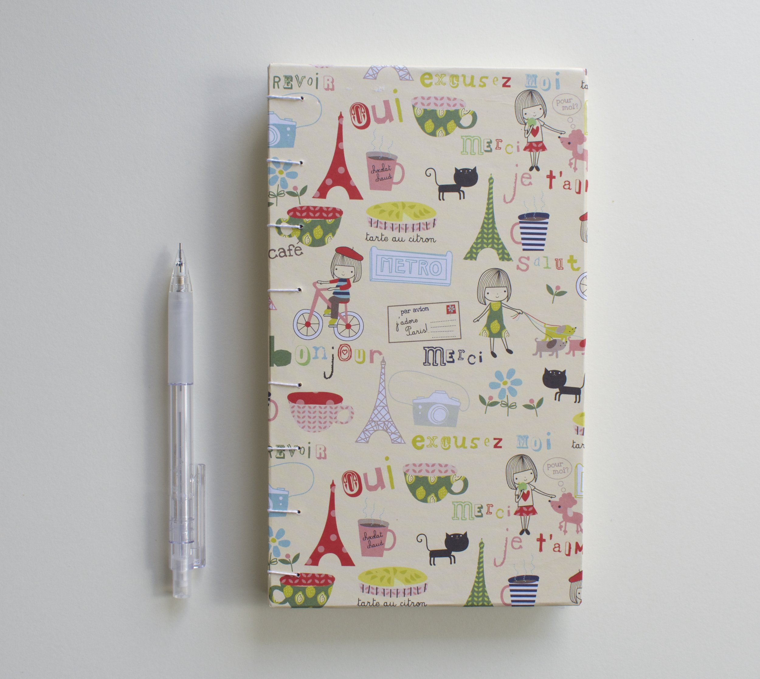 French themed book