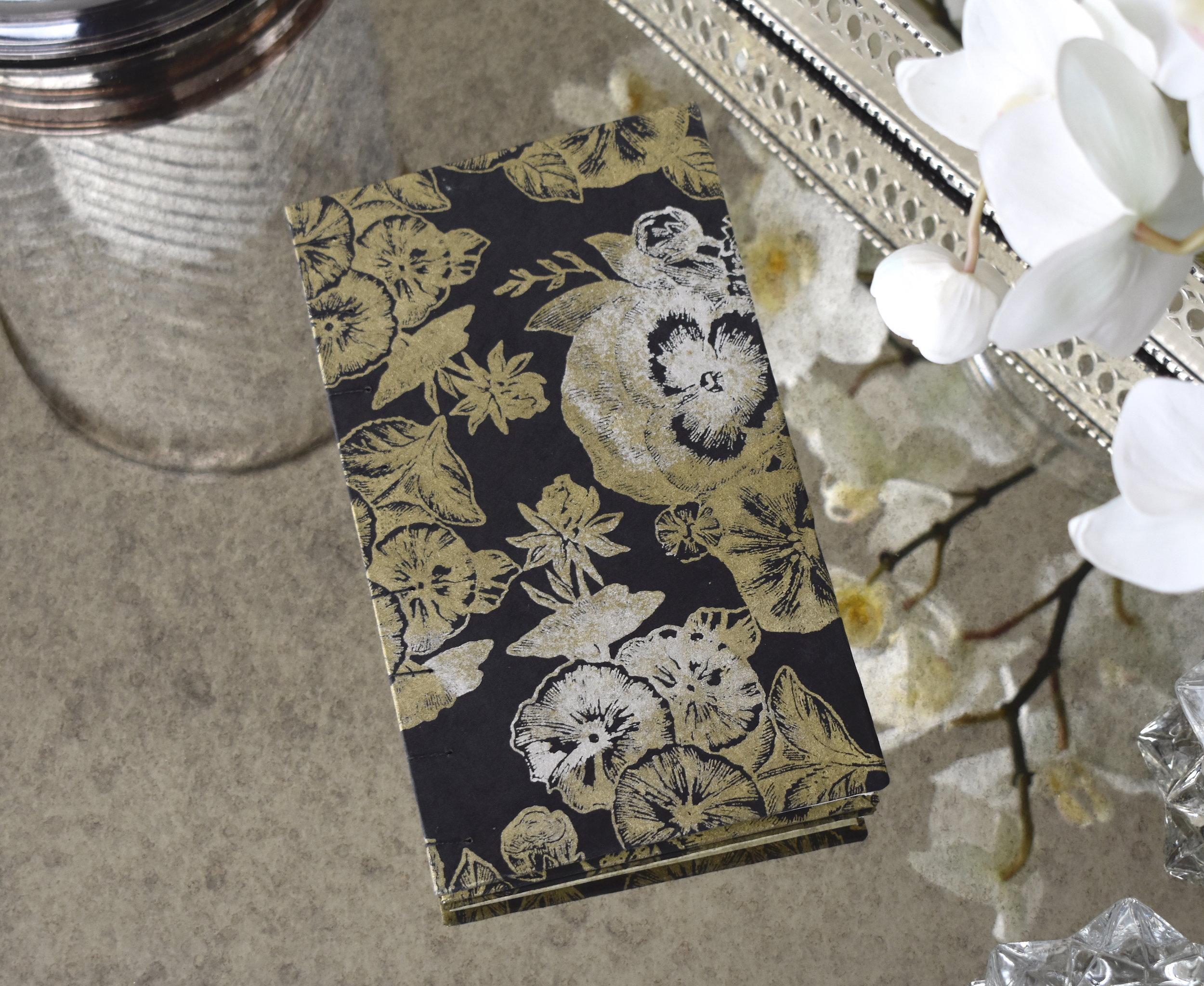 Black Floral book 2019