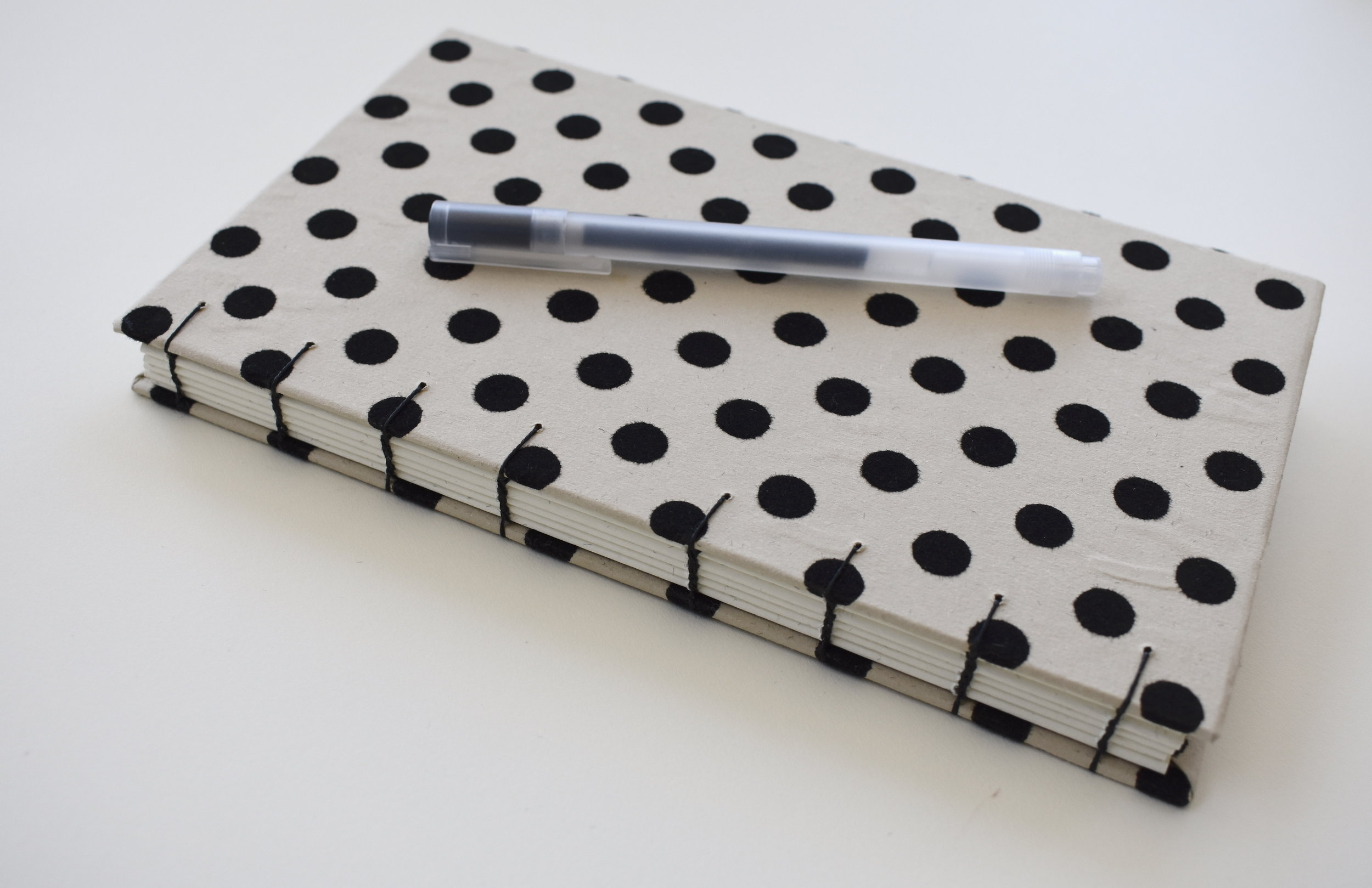 Black and Beige Spotted Book 2019