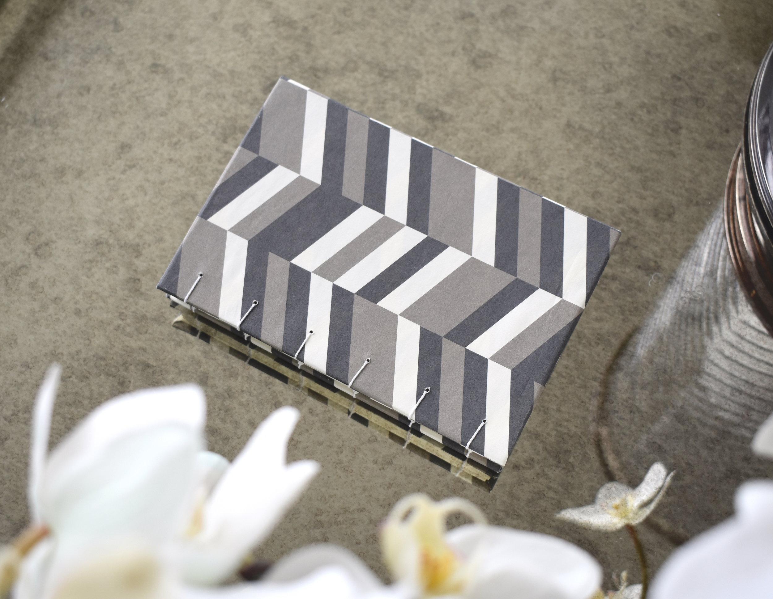 Grey stripe book, 2019