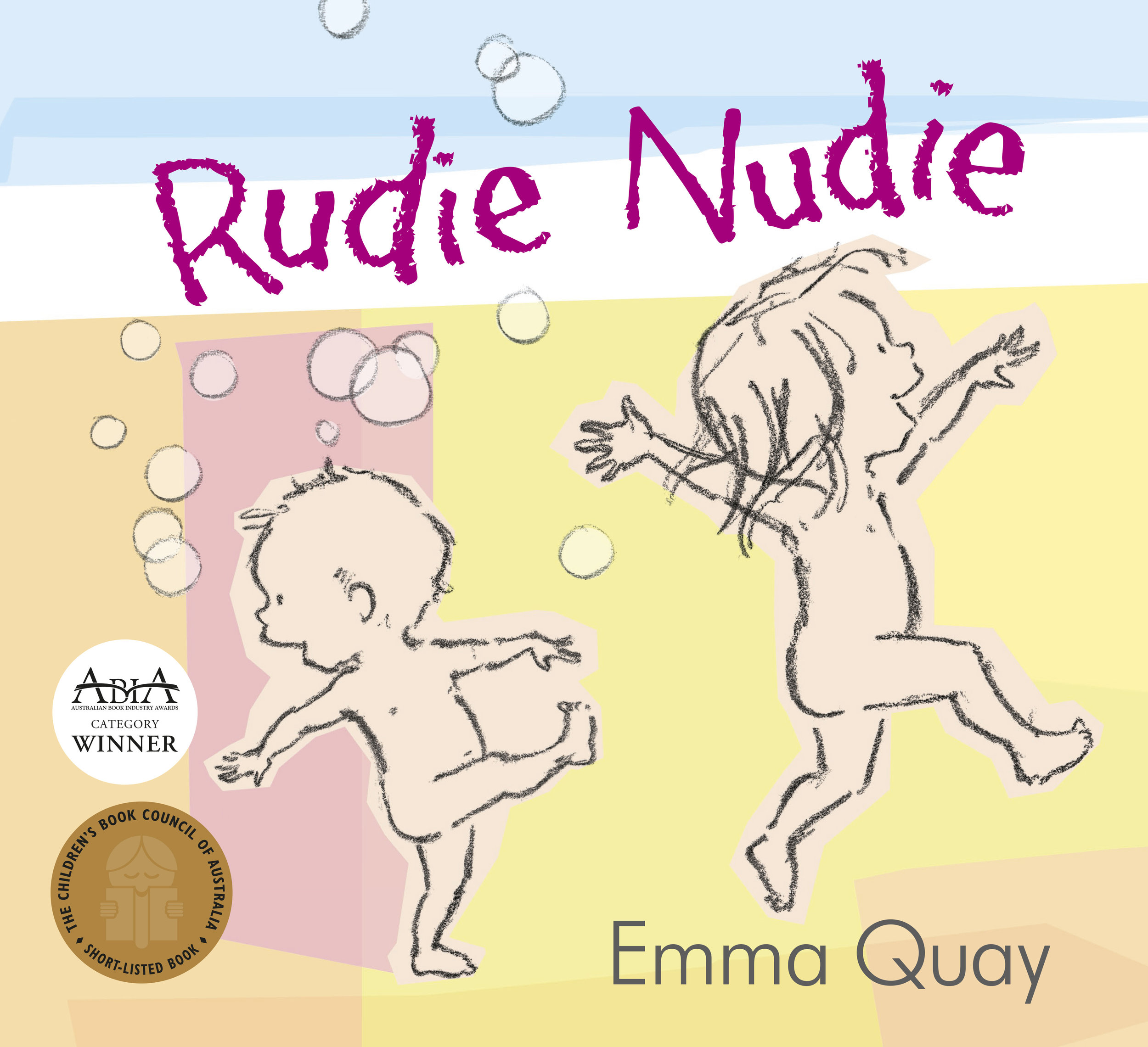 RUDIE NUDIE by Emma Quay (ABC Books)• http://www.emmaquay.com