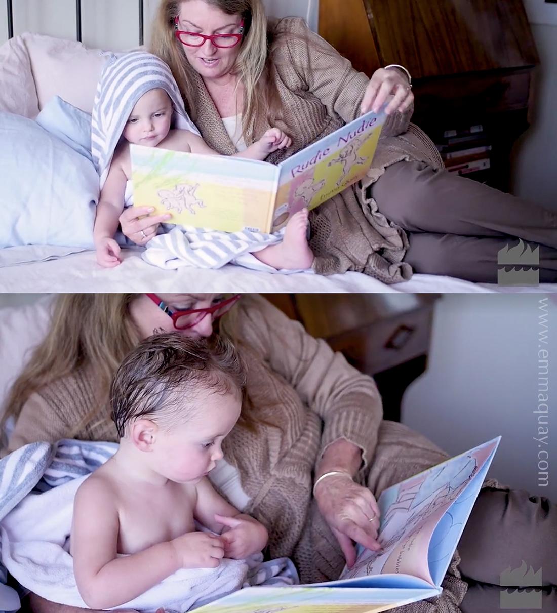 Reading RUDIE NUDIE by Emma Quay(ABC Books) •http://www.emmaquay.com