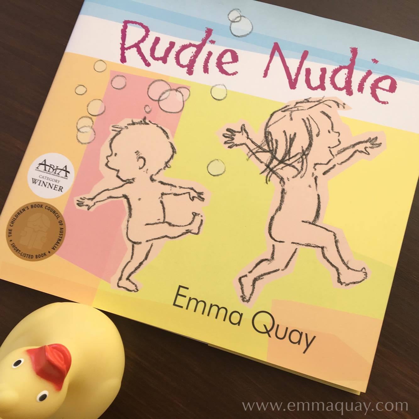 RUDIE NUDIE by Emma Quay (ABC Books) •http://www.emmaquay.com