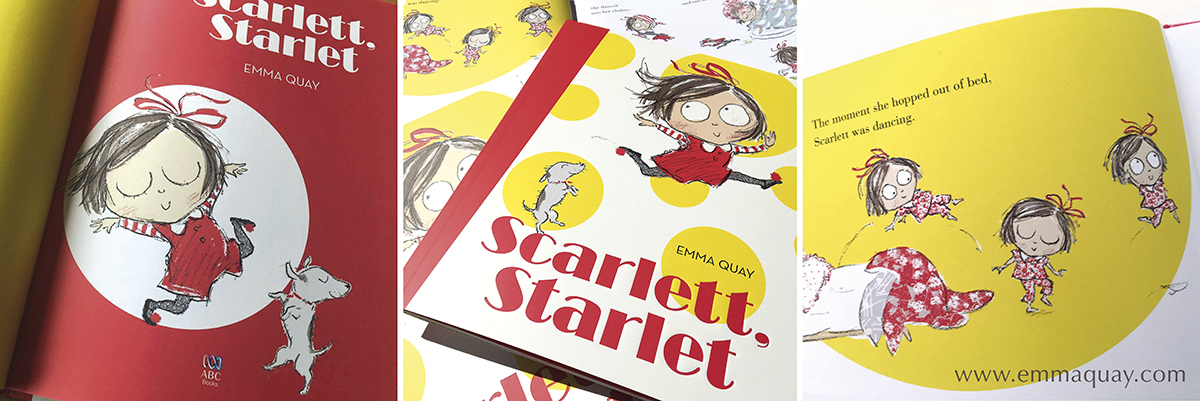 SCARLETT, STARLET, a picture book by Emma Quay (ABC Books)