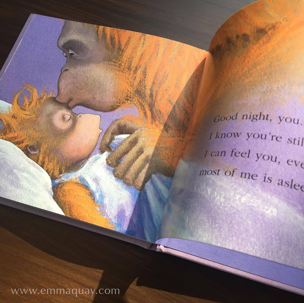 Illustration from GOOD NIGHT, ME by Andrew Daddo and Emma Quay (Lothian Books) •http://www.emmaquay.com