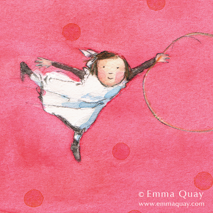 HOOP • Emma Quay limited edition print • http://www.emmaquay.com/shop/