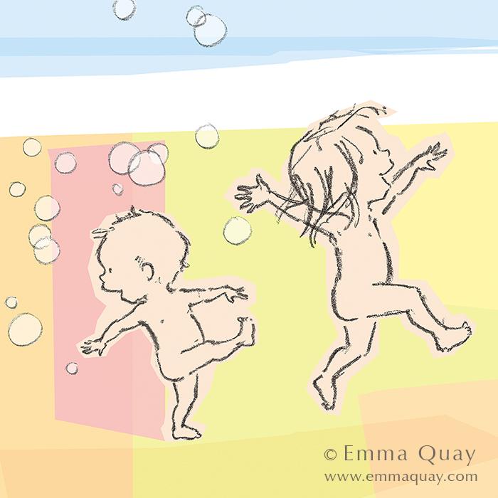 RUDIE NUDIE • Emma Quay limited edition print • http://www.emmaquay.com/shop/