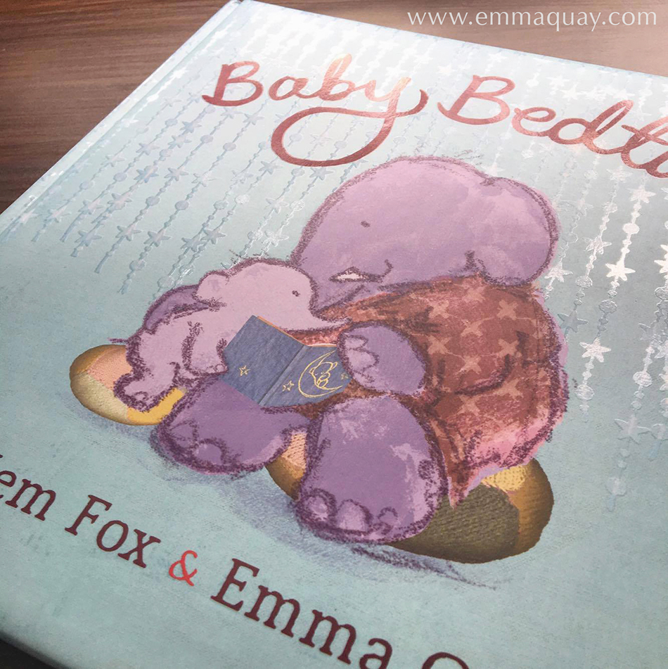 BABY BEDTIME by Mem Fox & Emma Quay(Viking/Penguin Books Australia) • http://www.emmaquay.com