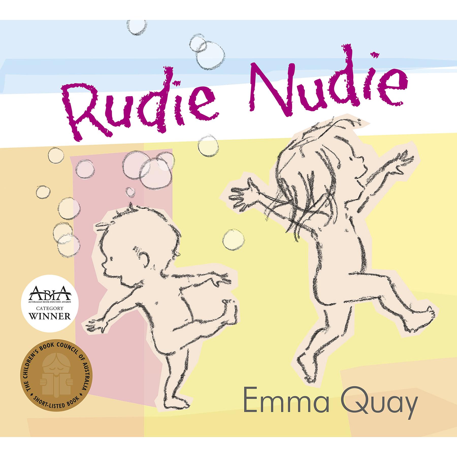 RUDIE NUDIE by Emma Quay (ABC Books)