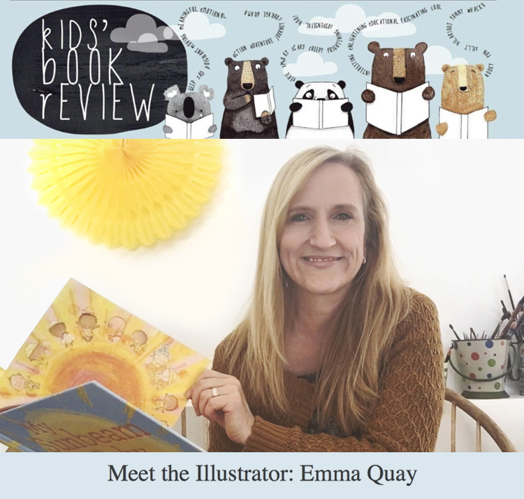 KIDS' BOOK REVIEW interview - Meet the illustrator: Emma Quay