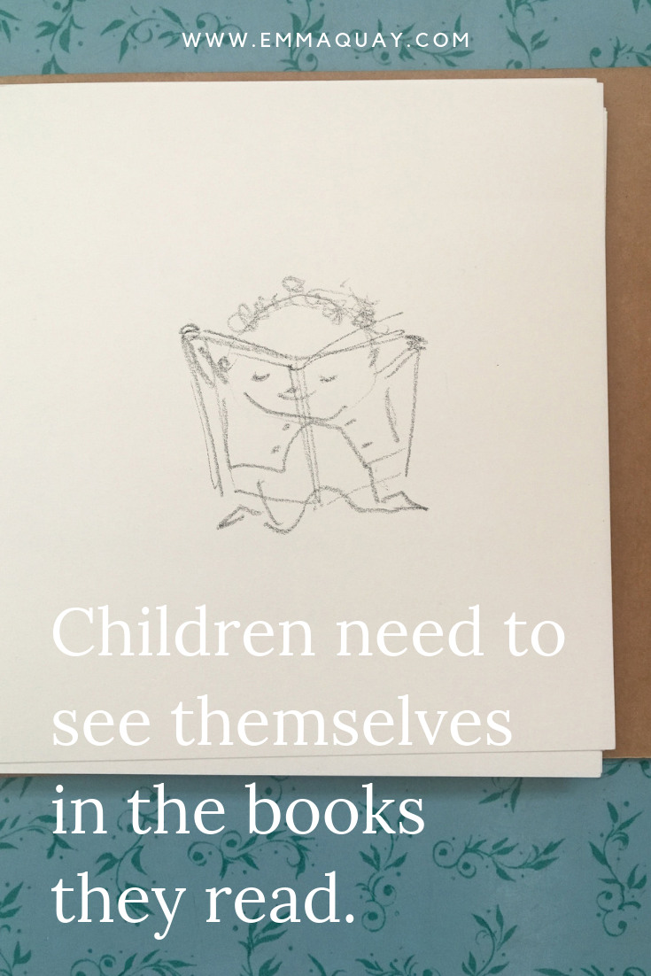 Children need to see themselves in the books they read #emmaquaysketchbook