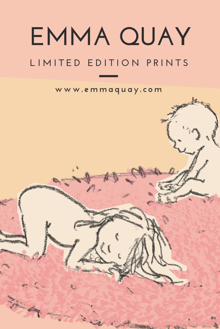RUDIE NUDIE by Emma Quay • Limited edition print from an original picture book illustration • www.emmaquay.com