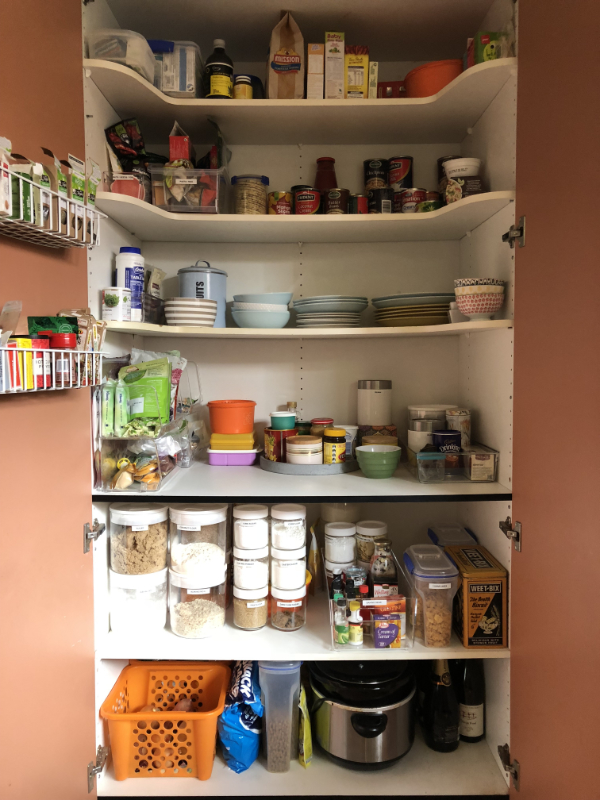 Pantry - after