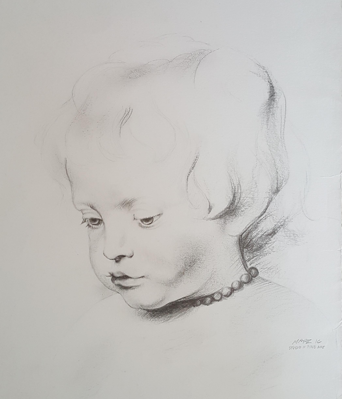 "Copy of Ruben's ""Portait of a Boy"" (Master Study)"