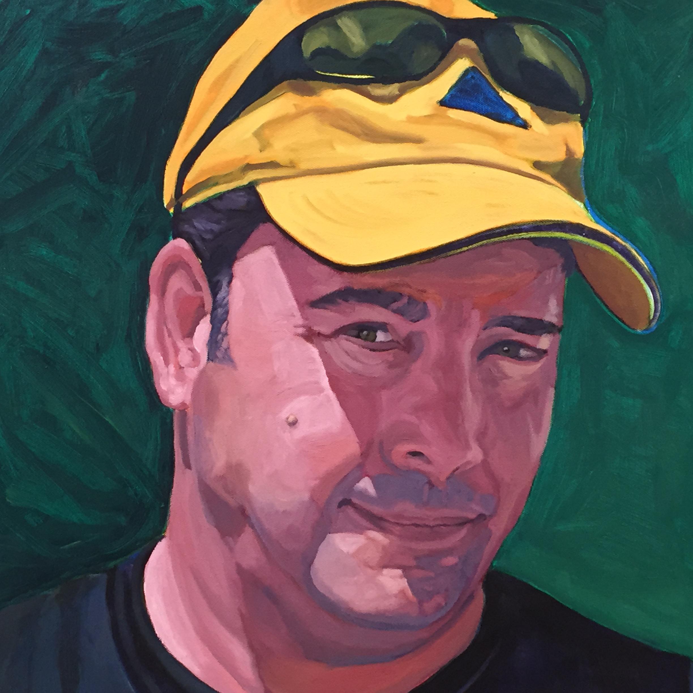 Brian  16 x 16  Oil on Canvas